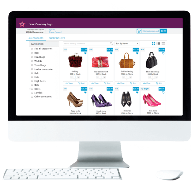 eCommerce fashion and accessories