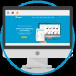 Desktop salesin website