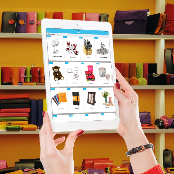iPad on hand - home and giftware supplies