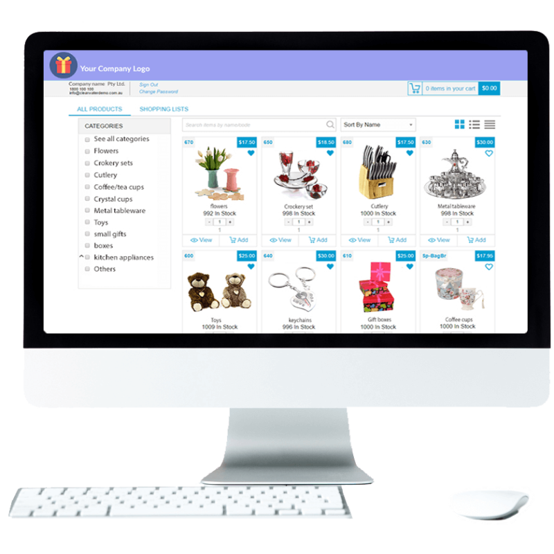 e-commerce home and giftware supplies